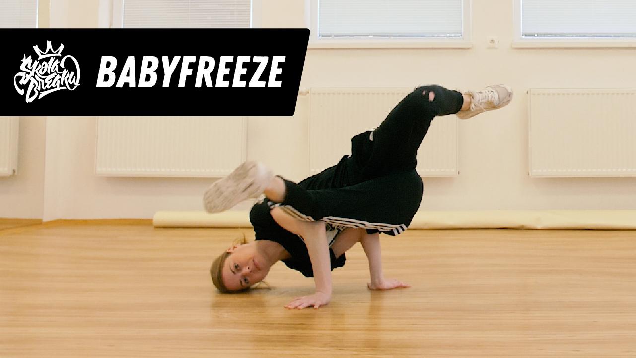 Ako sa naučiť Baby freeze   Škola Breaku tutoriál