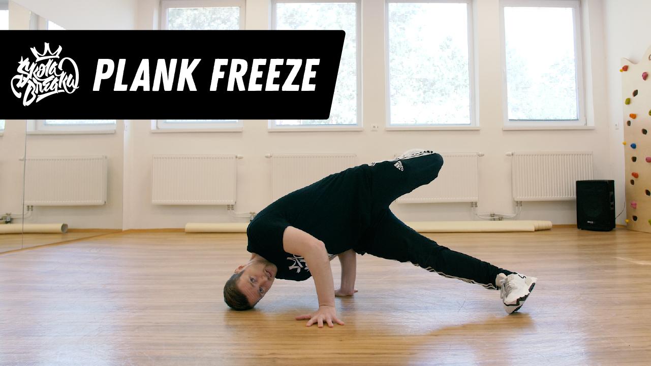 Ako sa naučiť Plank freeze   Škola Breaku tutoriál