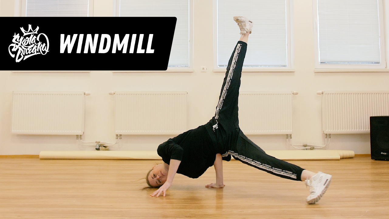 Ako sa naučiť Windmill Škola Breaku tutoriál